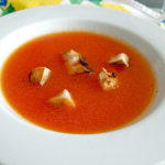 Supa de rosii crude