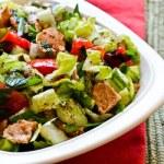 Fattoush – salata de paine libaneza