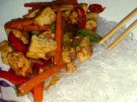 Tofu cu legume in sos Hoisin [Reteta Vegana]